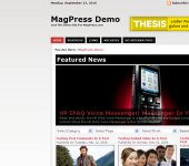 Free Magazine WordPress Theme - MiniZine