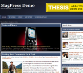 Free WordPress Theme - Bluewish