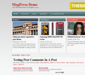 Free WordPress Theme - Primec