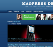 Free WordPress Theme - Bluenote