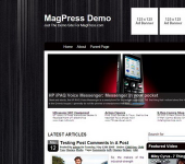 Free WordPress Theme - Blackmist