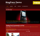 Free WordPress Theme - RedMoz
