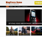 Free Magazine WordPress Theme - Ariela