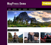 Free WordPress Theme - Purplex