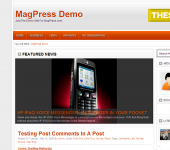 Tecom WordPress Theme