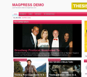 Pinksen WordPress Theme