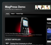 Free WordPress Theme - Cellular