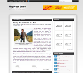 Free WordPress Theme - Bizmo