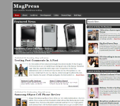 Free News WordPress Theme - Newsbie