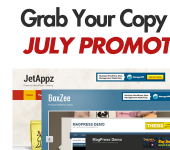 July Promotion – Get 4 Premium Themes for the price of 1