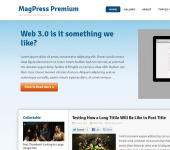 MediaMog WordPress Theme