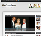 Free Magazine WordPress Theme - BizMag
