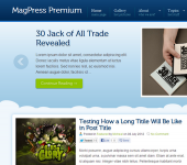 SkyHigh WordPress Theme