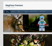 Robotic WordPress Theme