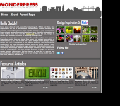 Free WordPress Theme - WonderPress