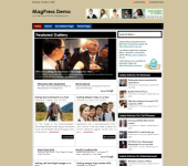 Free Magazine WordPress Theme - MiniPress