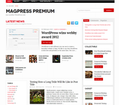 Newszeplin WordPress Theme | HTML5/CSS3 Responsive