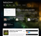 Blogblaze WordPress Template | Responsive Theme