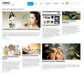 FeveNews - Free Magazine and News WordPress Theme