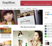 Emptilium - Multi Purpose Responsive WordPress Theme
