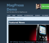 Magazine WordPress Theme - Maglue