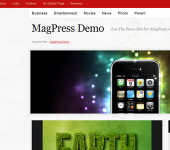 Free WordPress Theme - Veramag