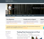 Free Webhosting WordPress Theme - Hostbox