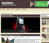 Free Magazine WordPress Theme - FutuPress