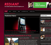 Free WordPress Theme - Rediant