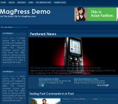 Free WordPress Theme - Bluze